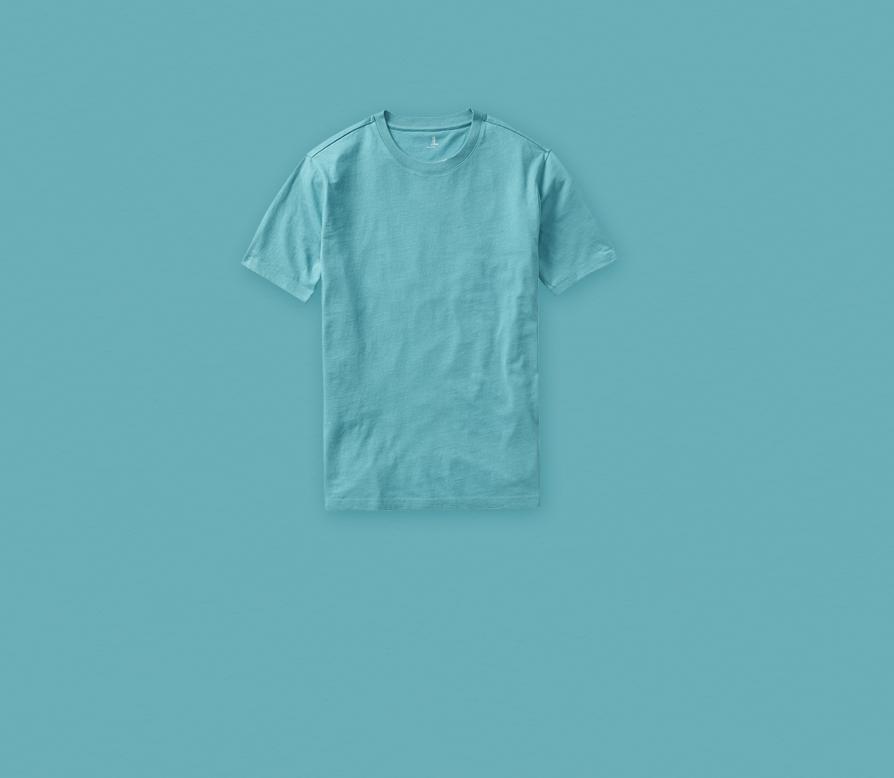 تیشرت آبی